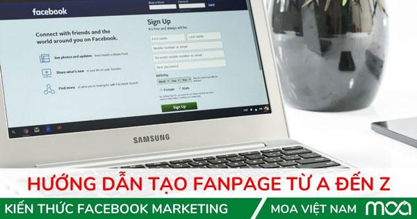 Tạo Fanpage Facebook