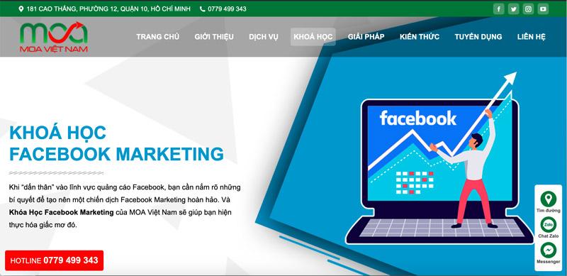 Trung Tâm Đào Tạo Digital Marketing MOA Việt Nam