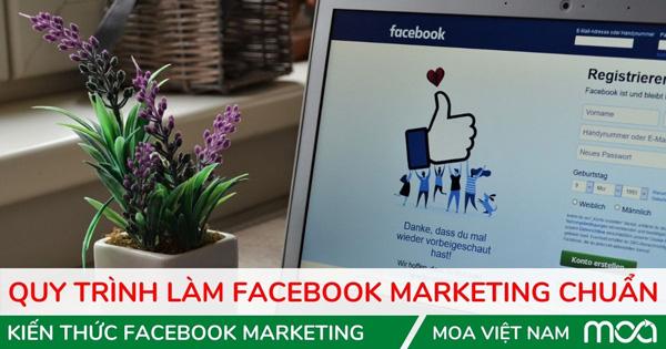 Bài hướng dẫn quy trình làm facebook marketing tại MOA Việt Nam