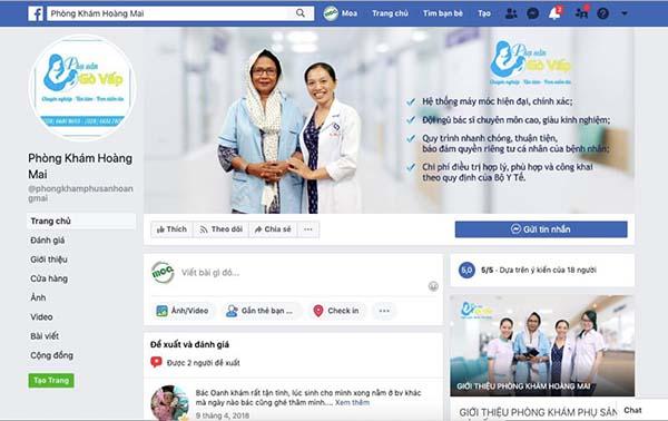 Giải pháp Marketing Online cho phòng khám - Tạo Fanpage Cho Phòng Khám