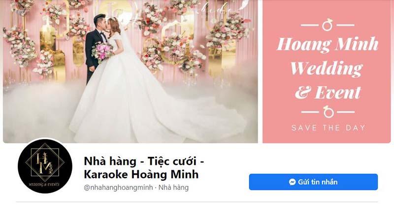 giải pháp Marketing Online cho nhà hàng tiệc cưới - Fanpage Nhà hàng tiệc cưới