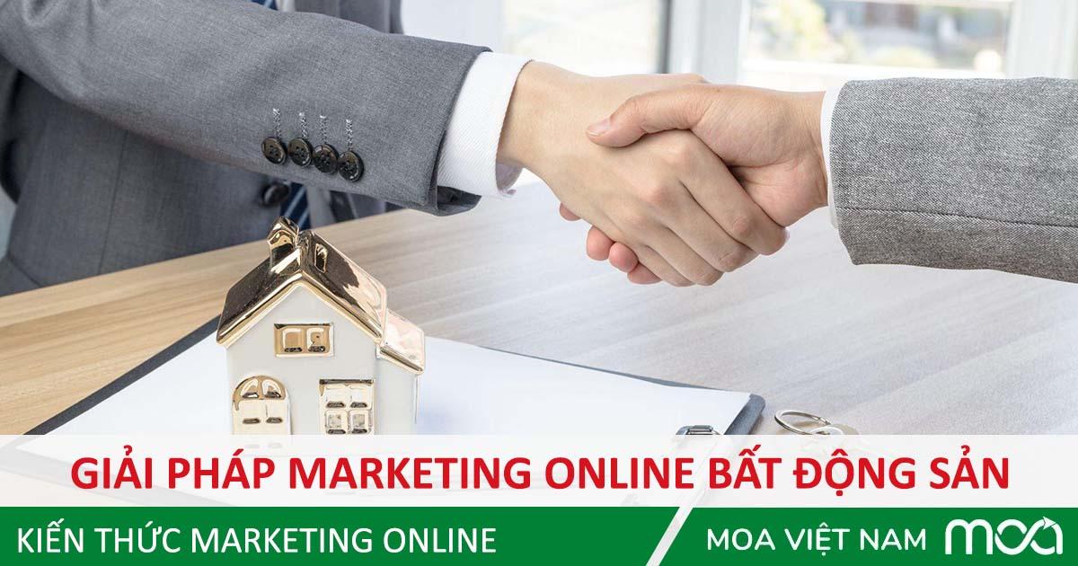 Giải pháp Marketing Online cho bất động sản