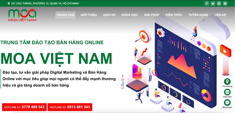 Trung Tâm Đào Tạo Marketing Online - MOA Việt Nam