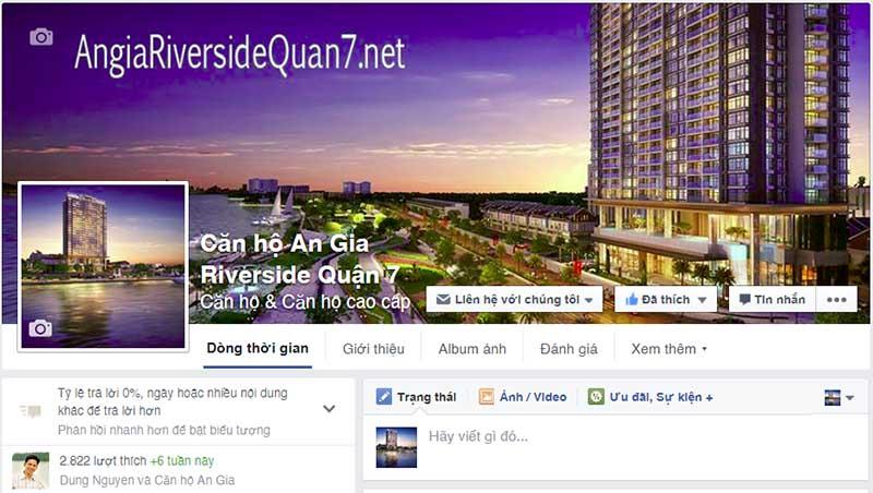 giải pháp Marketing Online kinh doanh bất động sản - Fanpage bất động sản