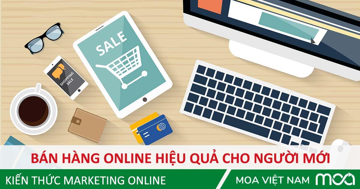 bán hàng online hiệu quả người mới