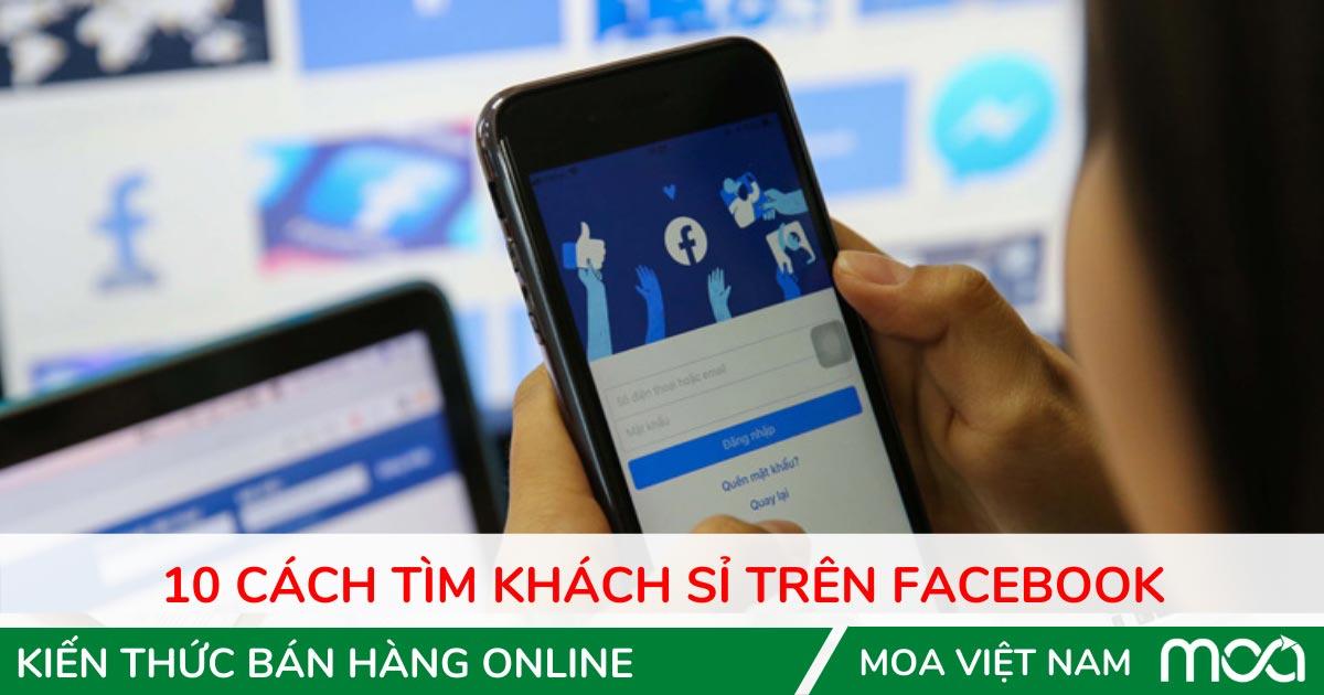 Cách tìm khách sỉ trên facebook
