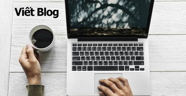 Kiếm tiền tại nhà bằng việc viết Blog
