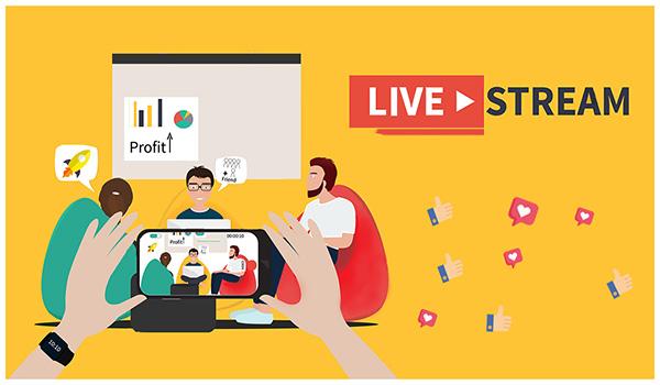 Livestream kêu gọi mọi người đăng ký