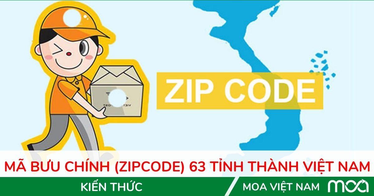 Mã bưu chính postcode Việt Nam