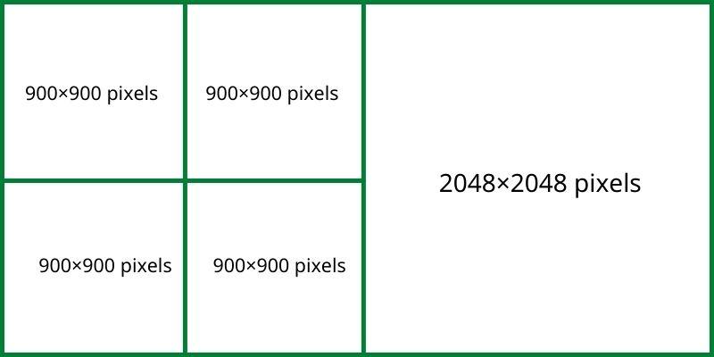 đăng ảnh hình vuông trên facbook