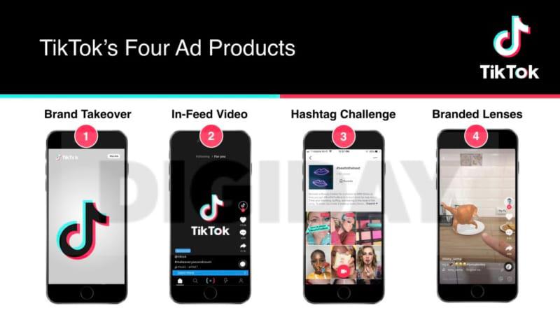 Các dạng quảng cáo trên Tiktok