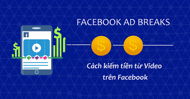 Kiếm tiền thông qua Facebook Ad Breaks