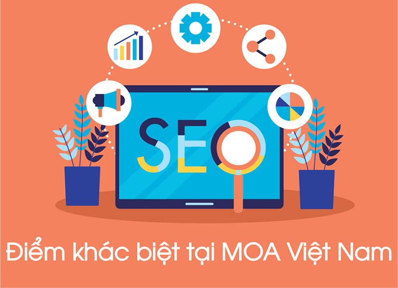 Lý do nên sử dụng dịch vụ seo tại MOA Việt Nam
