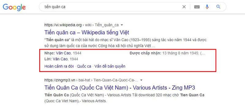 Rich Snippets Music