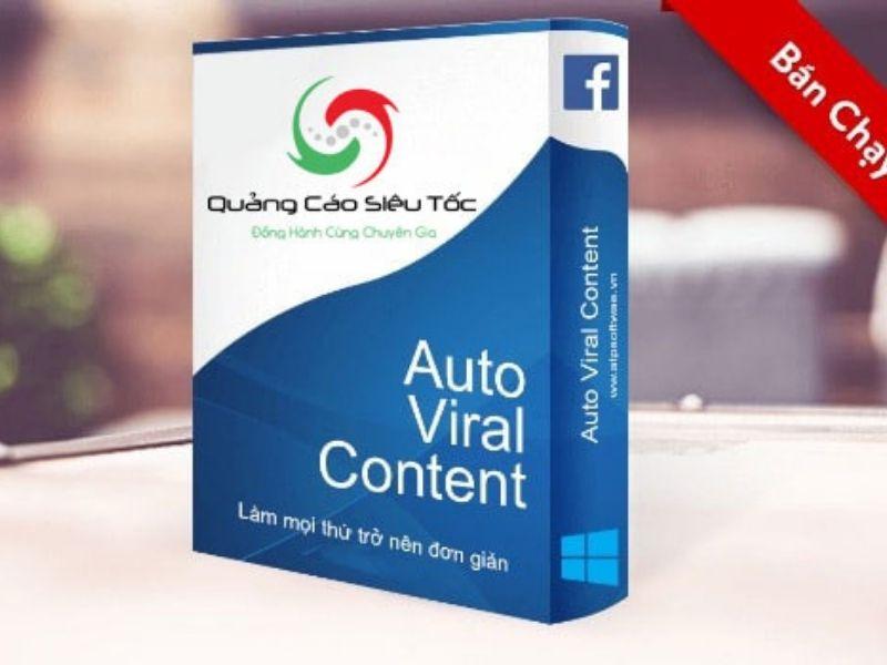 Auto Viral Content:Phần Mềm Quản Lý Nội Dung Trên Fanpage
