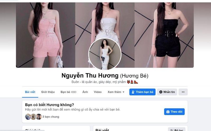 Bán hàng trên trang Facebook cá nhân