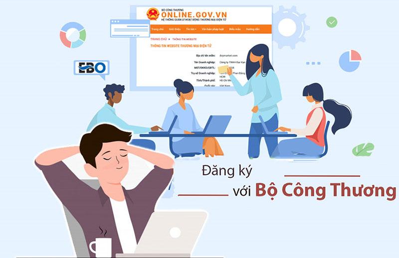 Đăng Ký Kinh doanh Online Với Bộ Công Thương